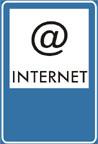 Verkehrsschild Internetipunkt